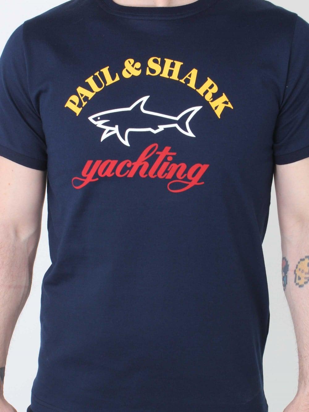 2793bee62ea3 Paul & Shark T.Shirt in Dark Navy | Northern Threads