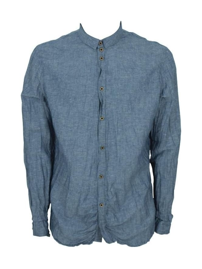 Pearly King Surface Shirt - Blue
