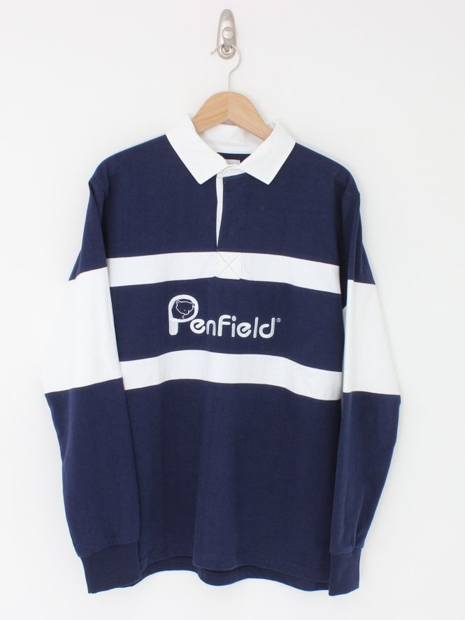Penfield Cass Rugby Sweat - Navy