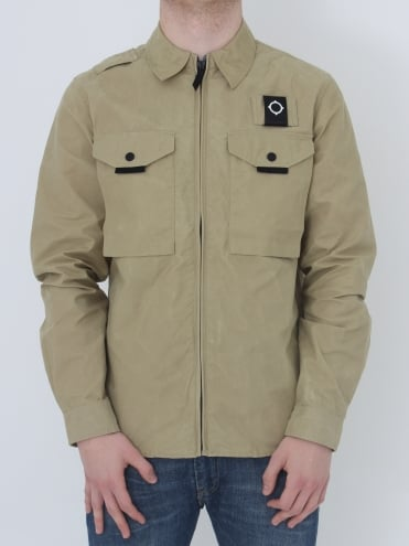 Pickerel Overshirt - Sand