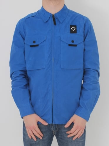 Pickerel Overshirt - Vibrant Blue