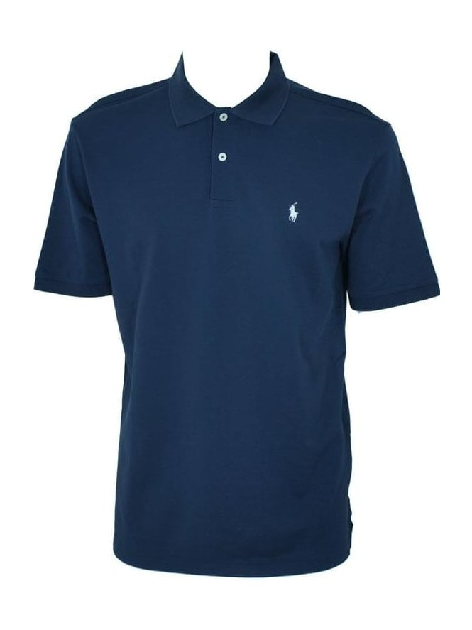 Ralph Lauren Pinpoint Mesh Pro Fit Polo - Navy
