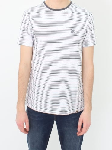 Argenta Stripe T.shirt - Grey