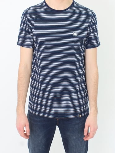 Argenta Stripe T.shirt - Navy