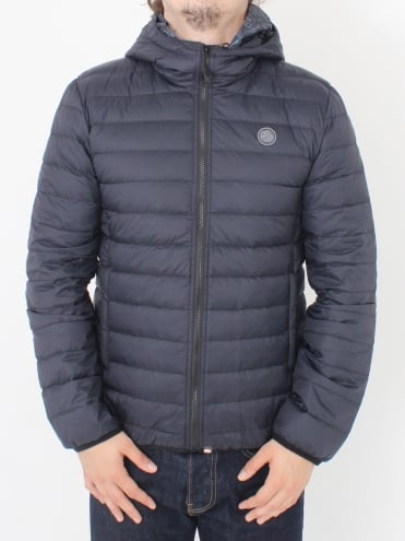 Barker Quilted Jacket - Black