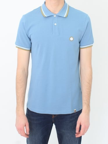 Bassline Polo - Mid Blue