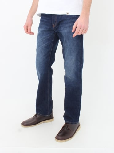 Burnage Slim Fit Jeans - 6 Month Wash