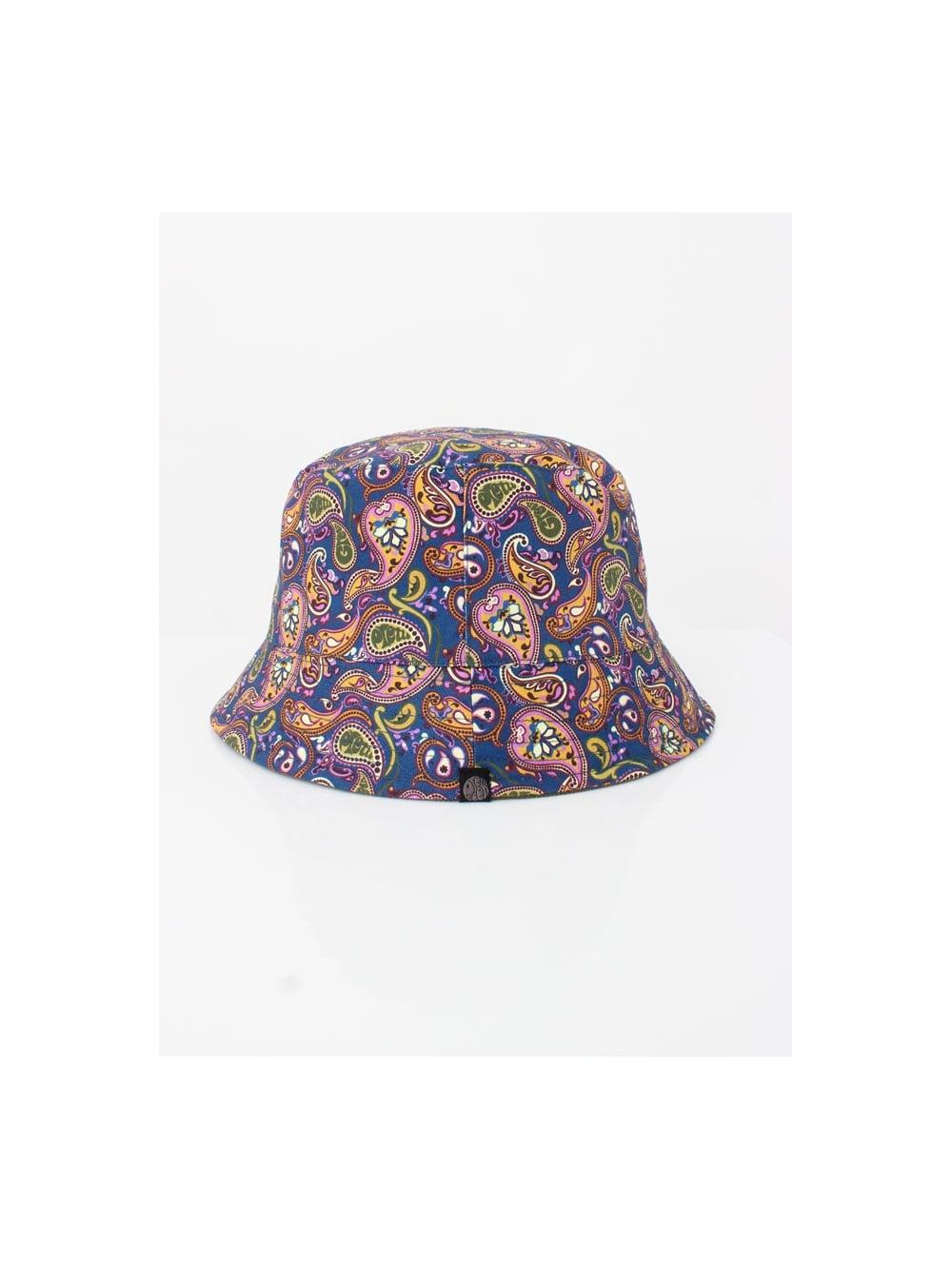 01d9a708ffa Pretty Green Cord Paisley Bucket Hat in Khaki