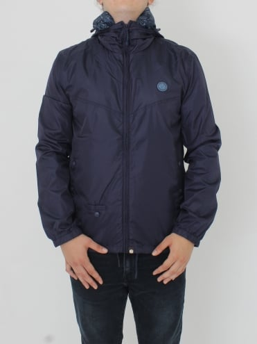Darley Zip Up Hooded Jacket - Navy