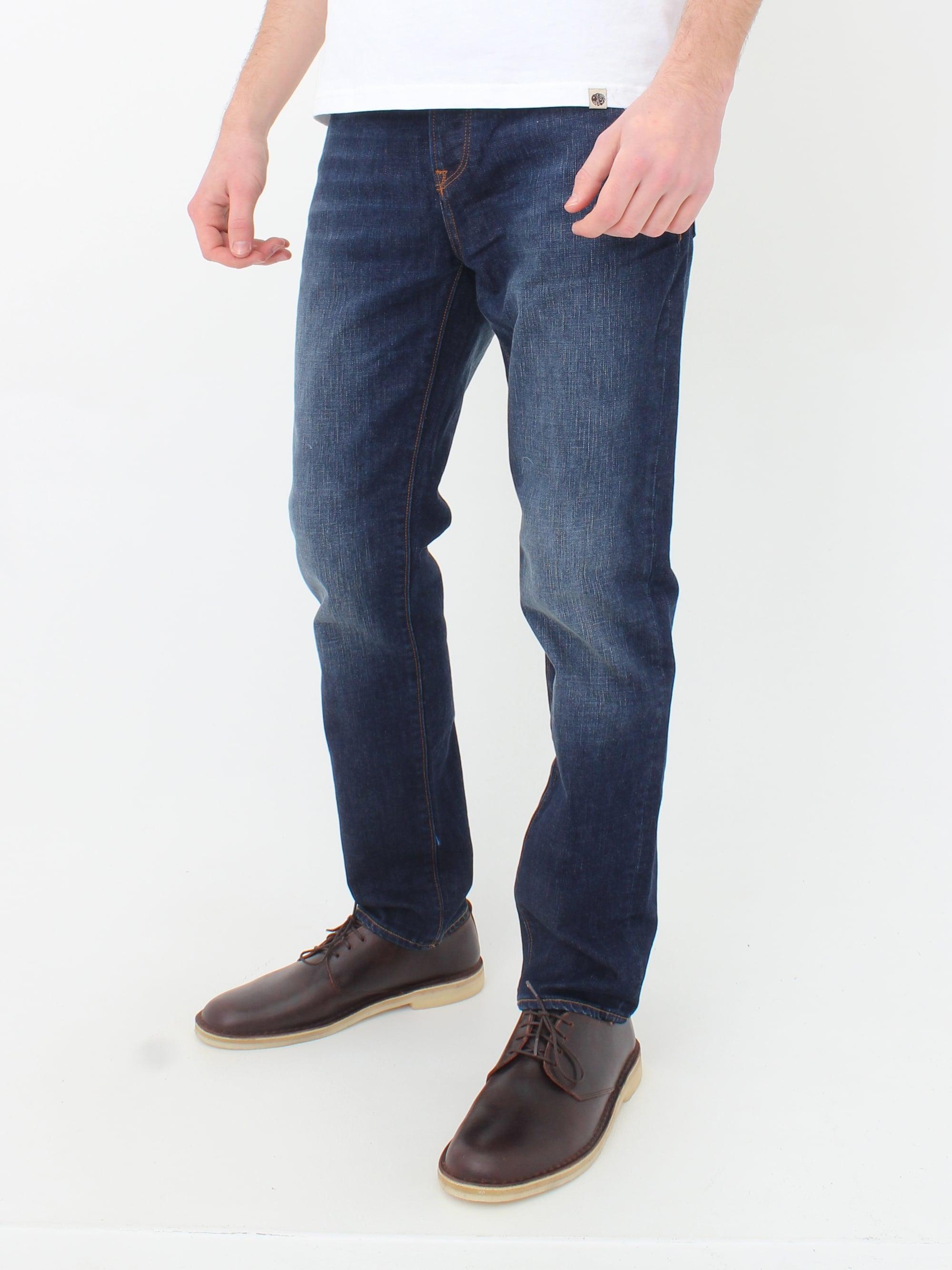 Pretty Green Erwood Slim Fit Jeans 6 Months Wash