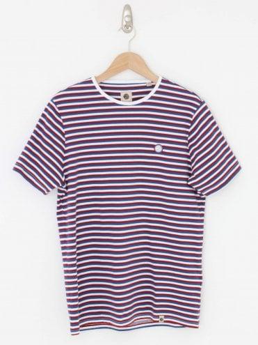 29d21c3ea Feeder T.Shirt - Blue 20% · Pretty Green ...