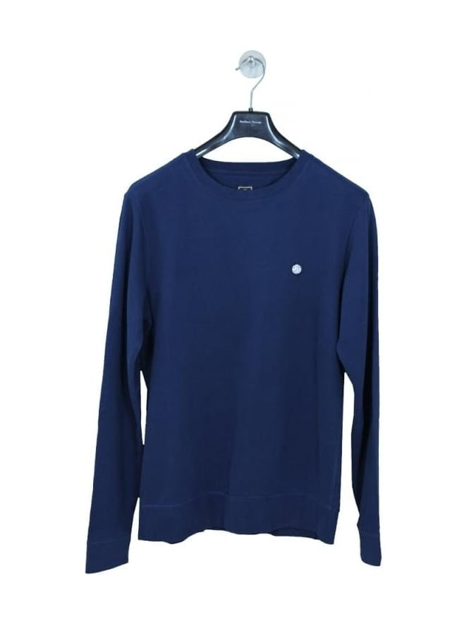 Pretty Green Foxlair Sweat in Navy