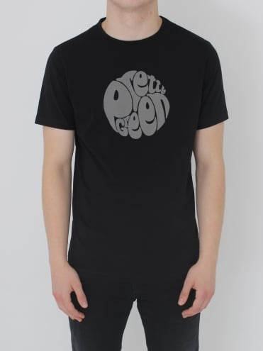 Pretty Green Gillespie Logo T.Shirt - Black