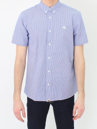 Hendry Gingham Shirt - Blue