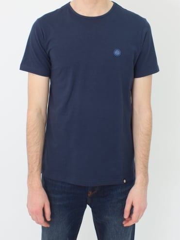 Mitchell Cotton T.Shirt - Navy