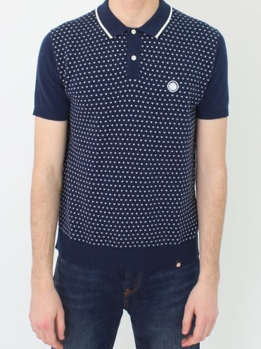 Padstow Short Sleeve Shirt - Navy