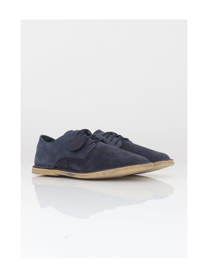 Pretty Green Ridley Suede Shoe - Navy