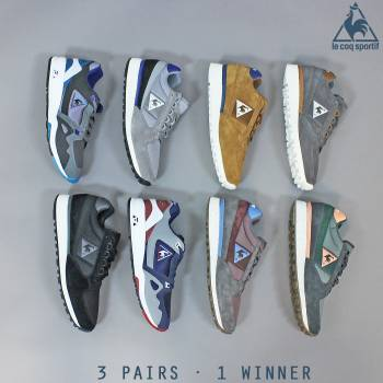 WIN! A PAIR OF LE COQ SPORTIF TRAINERS