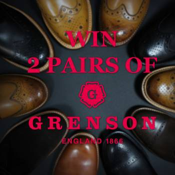 WIN! 2 PAIRS OF GRENSON SHOES