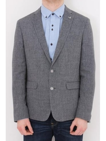 Novo Slim Fit Jacket - Grey