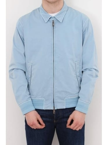 2 Way Zip Harrington - Blue Light