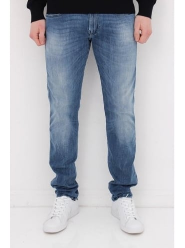 Anbass Hyperflex Jeans - Light Wash