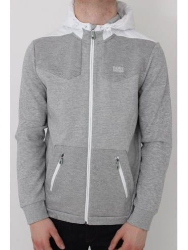 - BOSS Green Sivon Sweat - Pastel Grey