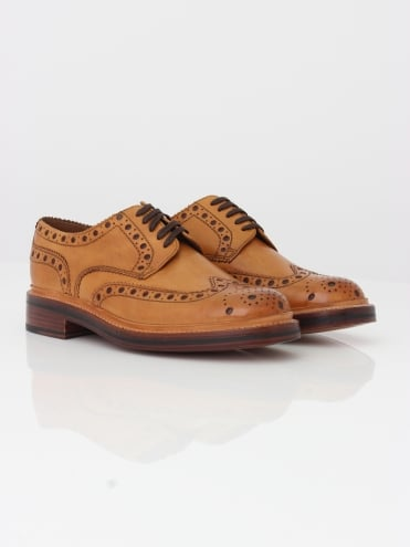 Archie Big Punch Brogue - Tan