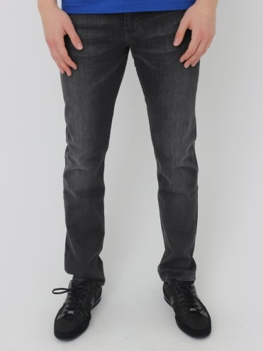 - BOSS Green - Delaware 1 Slim Fit Jeans - Dark Grey
