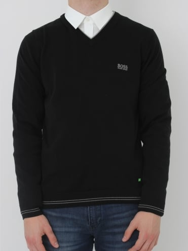 - BOSS Green - Vime Knit - Black
