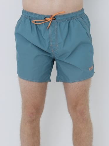 - BOSS Hugo Boss Lobster Swim Shorts - Pastel Blue