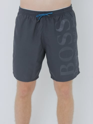 - BOSS Hugo Boss Orca Swim Shorts - Black