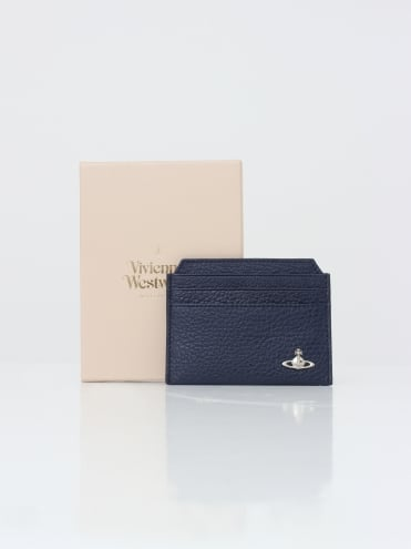 New Credit Card Holder Milano - Blue