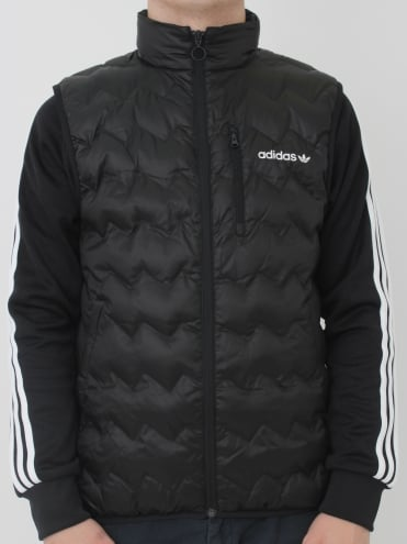 Serrated Vest - Black