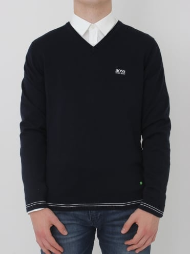 - BOSS Green Vime Knit - Navy