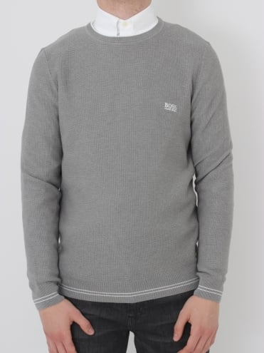 - BOSS Green Rome Knit - Pastel Grey
