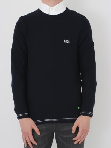 - BOSS Green Rome Knit - Navy
