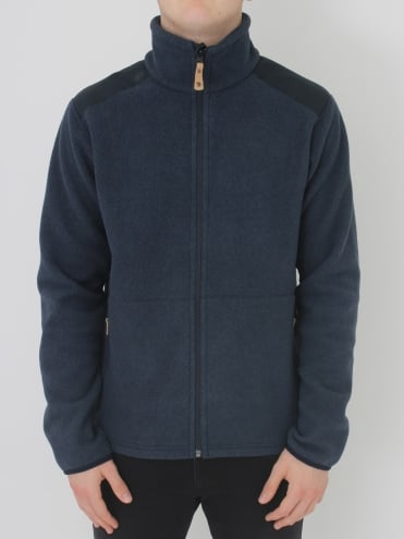 Sten Fleece - Dark Navy