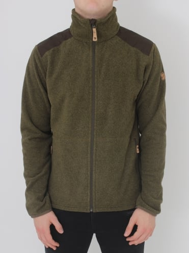 Sten Fleece - Olive