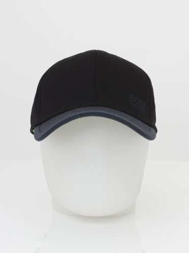 - BOSS Green Logo Cap 14 - Black