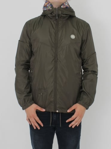 Darley Zip Up Hooded Jacket - Khaki