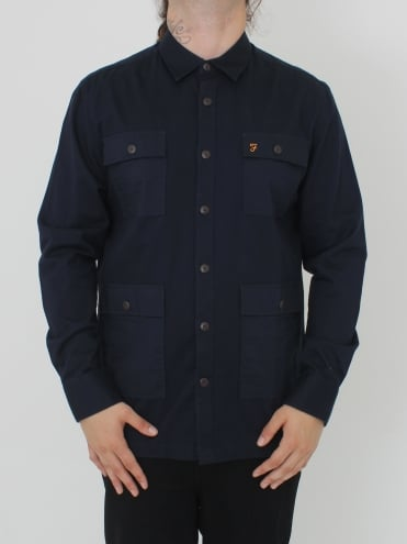 Mangrove Long Sleeve Shirt - Navy