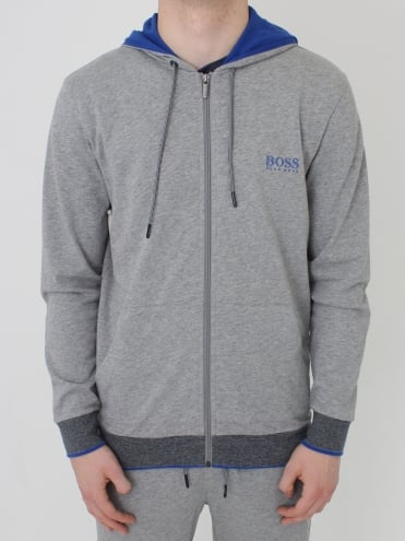 - BOSS Hugo Boss Hooded Jacket - Grey