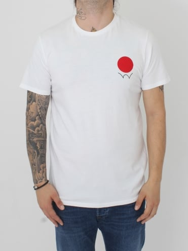 Red Dot Logo T.Shirt - White