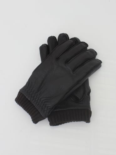Barrow Leather Gloves - Brown