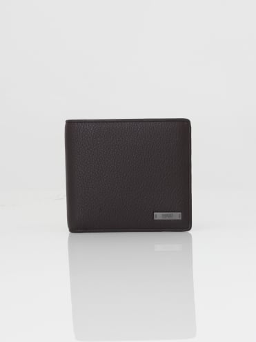 - HUGO Element 8 Coin Wallet in Dark Brown
