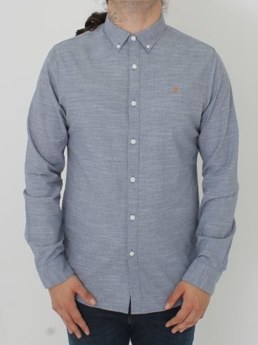 Tensington Slim L/Sleeve Shirt - Cornflower