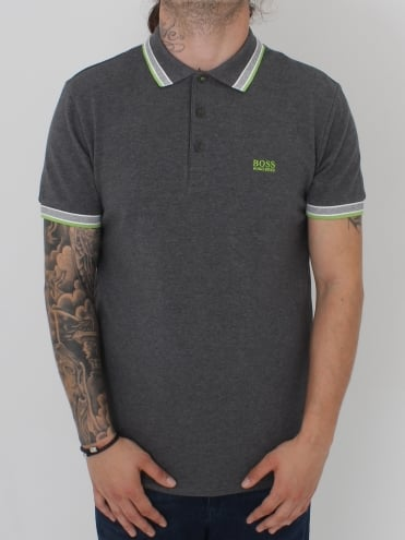 Paddy Polo - Medium Grey