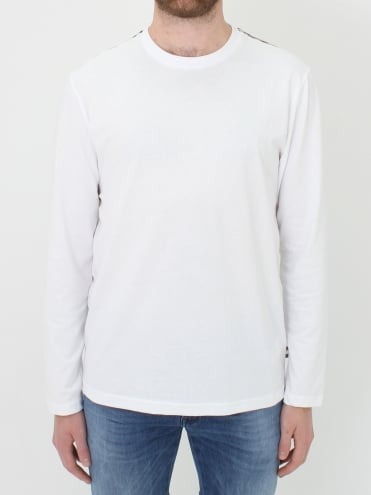 Southport C/C Shoulder T.Shirt - White