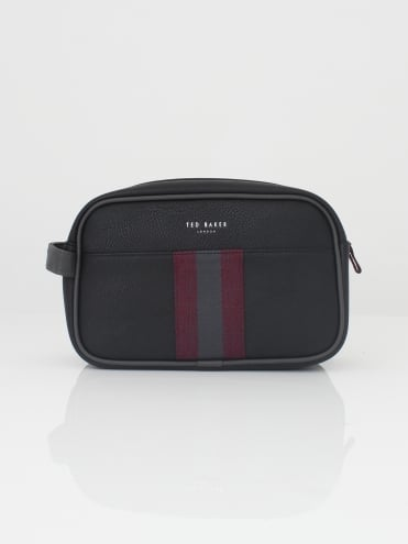 Pidgy Webbing Washbag - Black